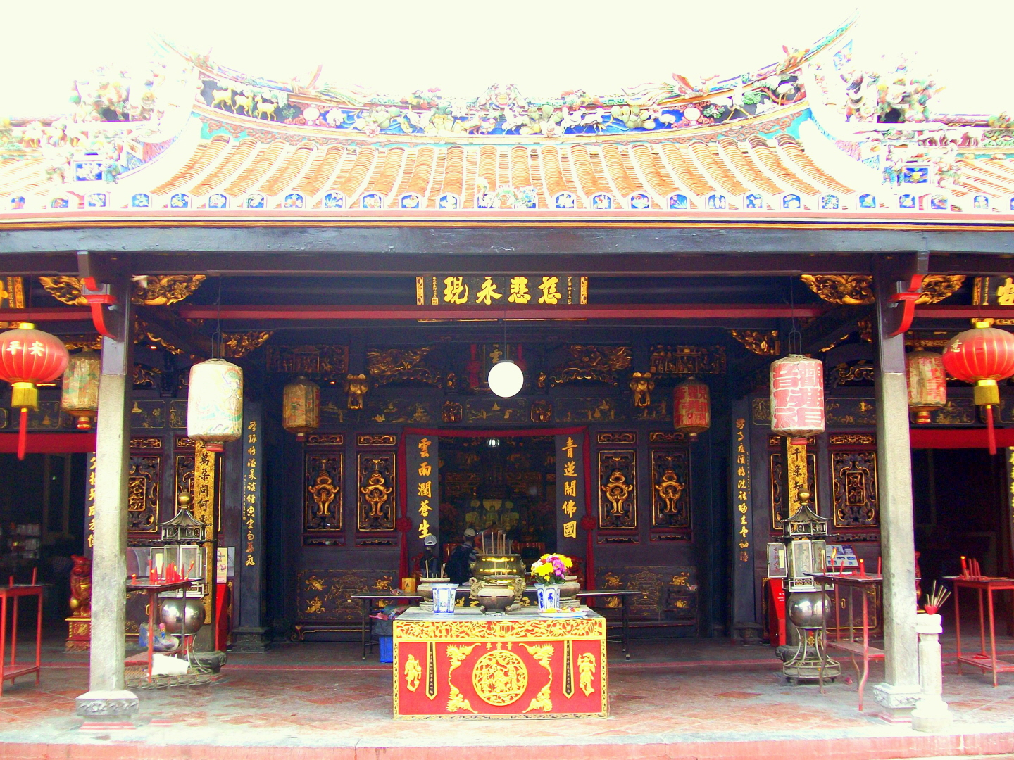 Cheng Hoon Teng Temple - 1600's Traditional Chinese -UNESCO AWARD for Restoration - Malaka