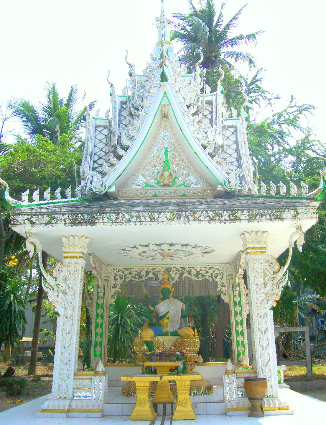 Part of the Inpeng Temple Complex - Vientiane, Laos