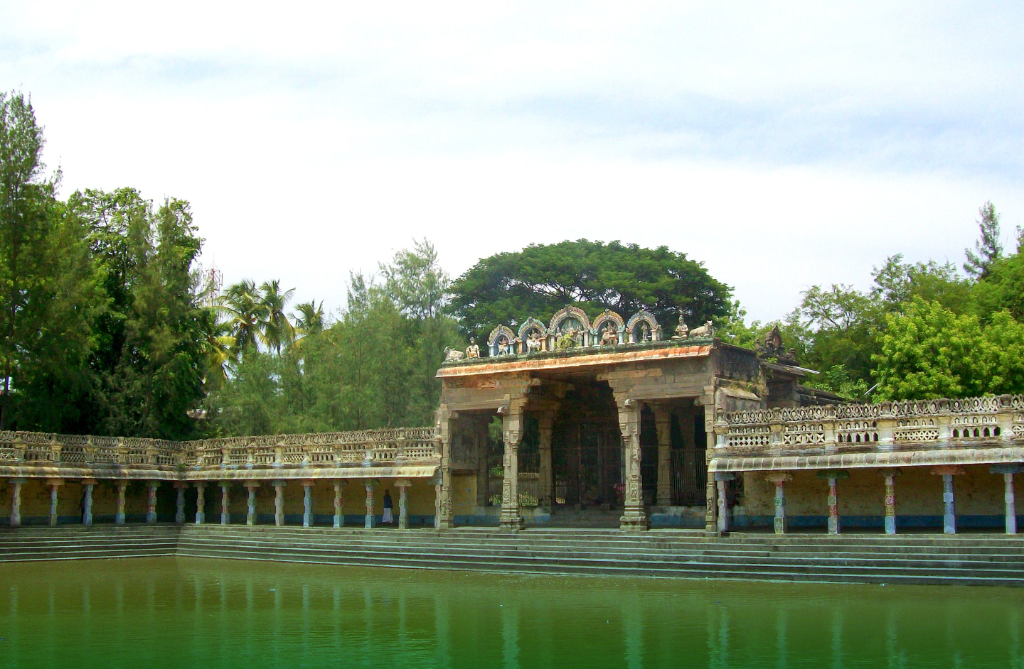 Vaithiswarankoil Temple dedicated to Shiva (the Divine as Healer)  Associated with the Planet Mars (Beginning 1070-1120 CE)  - Tamil Nadu, India