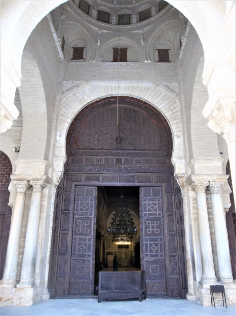 The Great Mosque of Kairouan (approx.670) CE - Tunisia